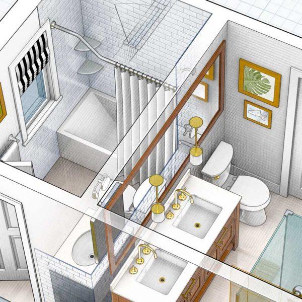 Rendering Casa Ravenna